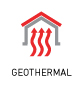 Icon for geothermal