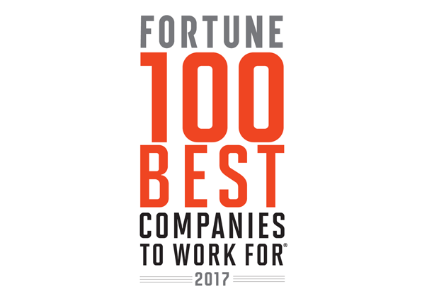 Fortune 100 Best Companies to Work For 2017 Logo