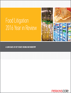 Cover Thumbnail of Food Litigation Year In Review