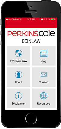iPhone displaying the CoinLaw app
