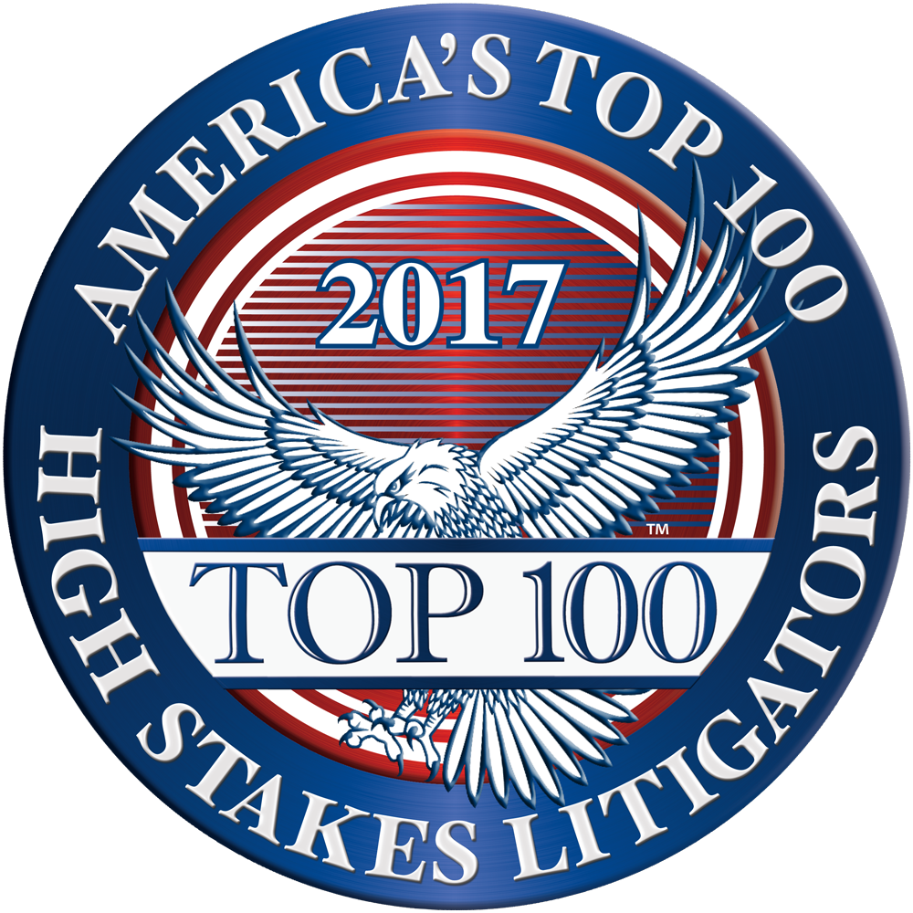 America's Top 100 High-Stakes Litigators 2017