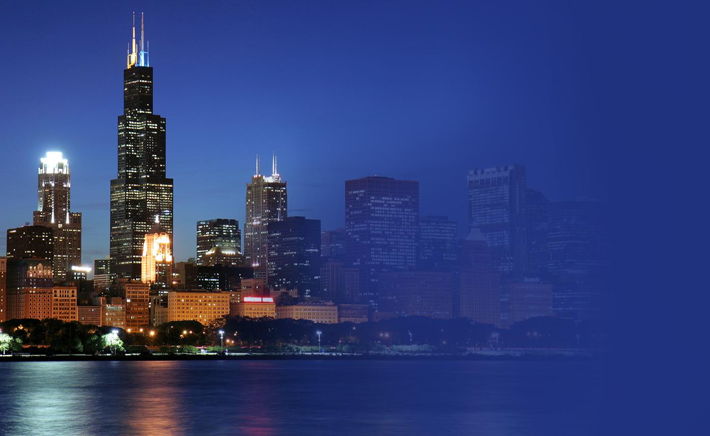 Chicago Anniversary Banner