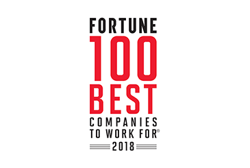 FORTUNE 100 Best Companies to Work For - 2018 Logo