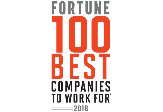 2018 FORTUNE Best Places to Work For logo
