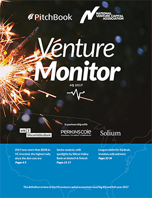 Cover image of Venture Monitor PDF