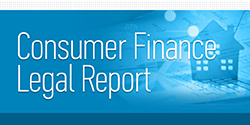 Consumer Finance Legal Report blog image