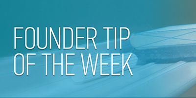StartupPerColator - Founder Tip of the Week