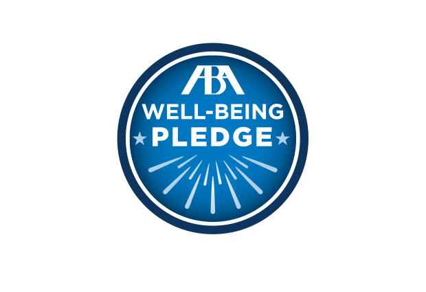 ABA Well Being Pledge logo