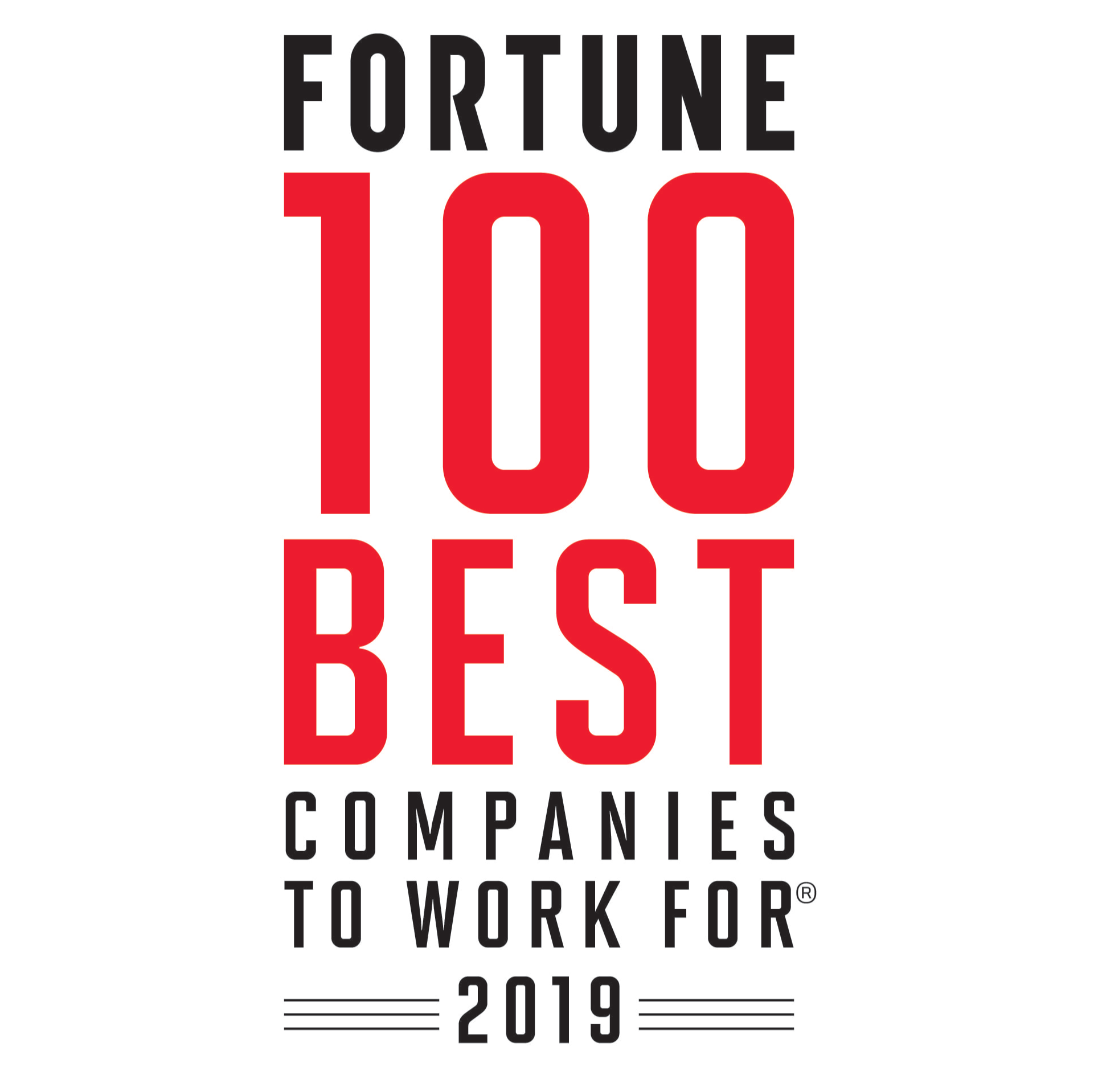 FORTUNE's 2019 100 Best Companies to Work For