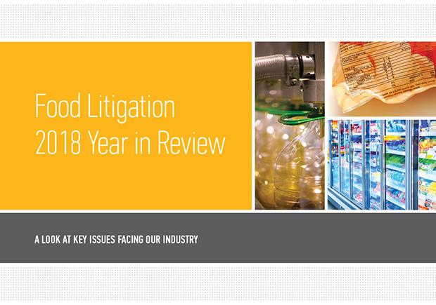 Food Litigation YIR Cover image