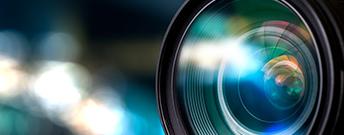 image of camera lense