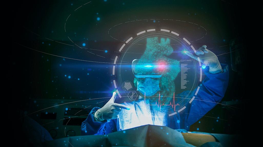 Augmented Reality / Virtual Reality and Mixed Reality image