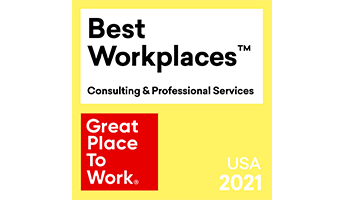 Best Workplaces - Great Place to Work logo USA 2021
